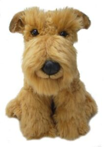 """Airedale Faithful Friends Soft Toy Dog 12"""""""
