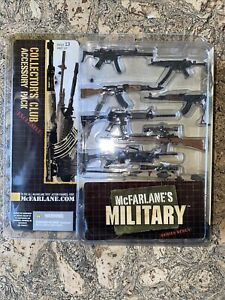 McFarlane's Military Collectors Club Exclusice Weapons Accessory Pack MEGA RARE