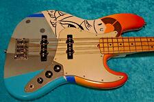 Cool! Fender American Jazz Bass Crash 1 vintage design standard maple neck USA