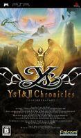 USED PSP Ys I II Chronicles PlayStation Portable 24853 JAPAN IMPORT