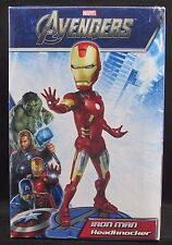 Neca Marvel Avengers Iron Man Resin Head Knocker Statue, New Open Box