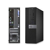 Dell SFF Computer PC Desktop i7 6th Gen 8GB RAM 256GB SSD 2GB Gaming Card Win10