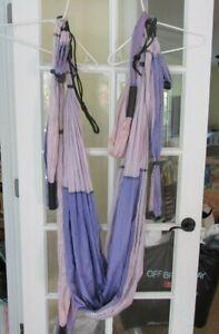 YB Yoga Body Trapeze, purple, aerial yoga sling, swing