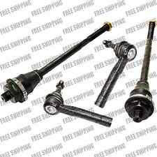 4x Tie Rod Linkages Steering Set For GMC Sierra 1500/2500 Yukon XL 1500/2500