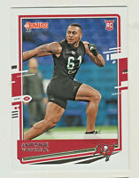 2020 Panini DONRUSS #288 ANTOINE WINFIELD JR RC Rookie Buccaneers QTY AVAILABLE