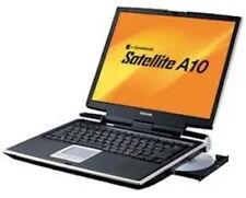 "Vintage Toshiba Satellite A10 P4 15"" 40GB Notebook Computer Windows XP"