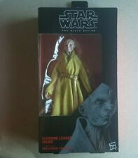 Hasbro Star Wars Snoke Supreme Leader Black Series 6 Inch