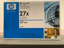 GENUINE HP 27X P/N: C4127X PRINT CARTRIDGE FOR LASERJET 4000 & 4050