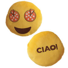 Ciao Pizza Eyes Emotive Cushion 26cm X 27cm