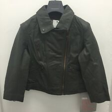Real Leather Ladies Jacket Asos  Uk Size 8