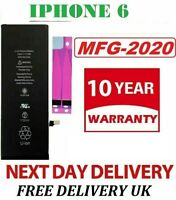 100% Replacement Battery fits Apple iPhone 6 1810 mAh High Capacity + Tape UK21