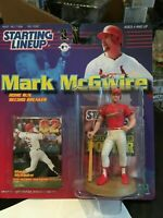 F29 1999 MARK MCGWIRE Cardinals 62 HR Starting Line Up NIB Fast FREE SHIPPING