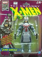 "Le leggende Marvel Retrò perturbante X-MEN SAMURAI IN ARGENTO 6/"" action figure loose"