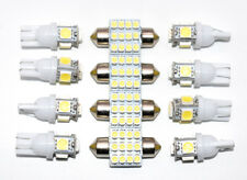 Interior 12X White LED Lights Package Kit 2003-2012 For Honda Accord Coupe&Sedan