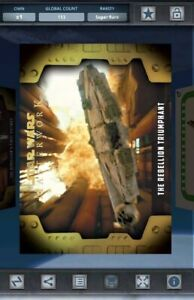 Topps Star Wars Card Trader - Masterwork Selects Gold - The Rebellion Triumphant