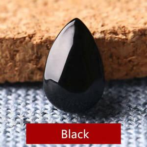10pcs 6*9mm Waterdrop Glass Beads Multicolor Tear Drop Shape Charm Pendant Beads