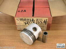 """Fiat 600 Piston Set  60mm +.6mm (024"""")  Mahle   up to 1960"""