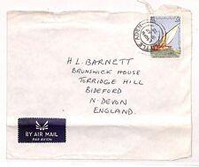UU5 1972 *LITTLE ADEN* Yemen Devon GB Cover Airmail {samwells-covers}PTS