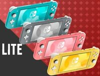 New Nintendo Switch Lite - Coral/ Gray/ Turquoise/ Yellow 32GB Handheld Console