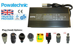 60V 67.2V 4A Lithium Li-Ion Battery Charger: E-Bikes Scooters Moped Motor Golf