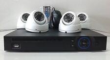 "HD-CVI 4 channel Security Camera System Kit 2MP 1080p 1/3"" Sony CMOS, 1080p DVR"