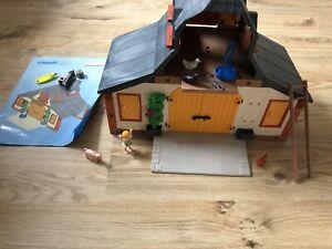 Playmobil Bauernhof Scheune Stall