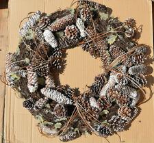 """22"""" Pinecone Wreath"""