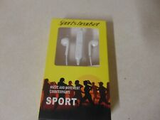 SPORTS HEADSET BLUETOOTH RECHARGEABLE 2X20 MW 4 HOUR TALK TIME 30 MINUTE CHARGE