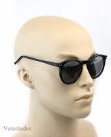 Retro Oliver Vintage Inspired Fashion Round Circle Key Hole Bridge Sunglasses