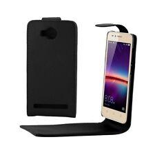 CUSTODIA COVER CASE FINTA PELLE PER SMARTPHONE Huawei Y3 II / Y3II HWE-20