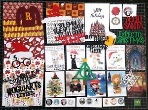 Harry Potter CHRISTMAS Scrapbook kit! Project Life, Paper, die cuts, Hogwarts