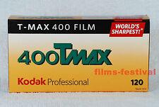 5 rolls Kodak 400TMAX 120 B&W Film T-max Medium Format FREESHIP