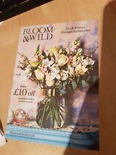 Bloom & Wild £10 off first order