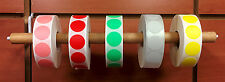 "5000 3/4"" Self-Adhesive Price Dots Color Coding Labels - Dot Stickers All Colors"