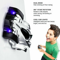 Wall Climbing Wireless Remote Control Vehicle RC Car ABS Schwarz Child Kid Gifts