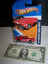 Hot Wheels Red '70 Camaro Road Race #4 - HW Performance #144 - Champion - 2012