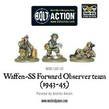 Warlord Games Waffen SS Forward Observer team (1943-45) 28mm Bolt Action German