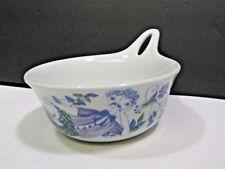 """Vintage Figgjo Handled Bowl Lotte Turi Design Norway Man Reclining MCM 5"""""""