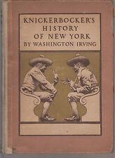 1915 HC ed Maxfield Parrish Illustrated Classic Knickerbocker's History New York