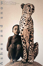 Child with Cheetah Mexico City by Gregory Colbert Photo Art Print Poster 36x24