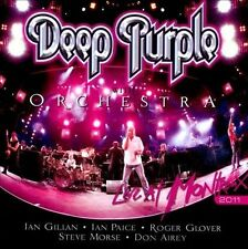 "DEEP PURPLE with Orchestra ""Live At Montreux 2011"" 2 CD set"