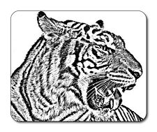 Tiger Mouse Mat - Wildlife