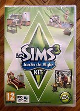 THE SIMS 3 Outdoor Living Stuff pacchetto di espansione per PC/MAC DVD ROM GIOCO-NUOVO