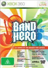 Band Hero Xbox 360 Game USED