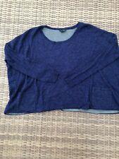 5427096d36 Theory Women's Cropped Light Knit Top Boxy S/XS Heathered Purple-Multi was  $179