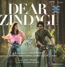 DEAR ZINDAGI / LIEBESBRIEF AN DAS LEBEN -Bollywood Soundtrack CD Shahrukh & Alia