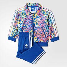 nwt~Adidas FIREBIRD PRINTED AOP Track Suit sweat shirt Jacket-Pant~TODDLER sz 2T