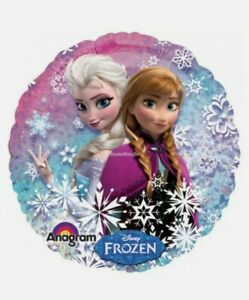 FROZEN ANNA AND ELSA Party Decoration Foil Helium Balloon