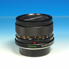 Yashica DSB 50mm/1.9 obiettivo Lens objectif per Yashica/Contax (Y/C) - (90179)
