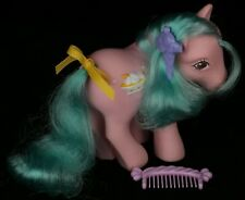 Vintage My Little Pony G1 Banana Surprise Sundae Best Pony with Accessories